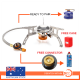 Outdoor Picnic Gas Jet Portable Stove Cooking Hiking Camping