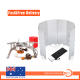 Outdoor Picnic Gas Jet Portable Stove with windshield Screen Camping