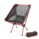 Lightweight Folding Camping Chair Portable Outdoor Fishing Seat Ultra-Light-Orange