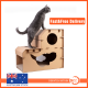 Pet Cat Cardboard Claw Scratcher Corrugated Big House Play Toy Interactive 58CM
