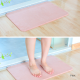 Quick-drying Water Absorption Diatomite Bath Mat-M-Pink