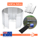 10 Plates Fold Camping Cooker Gas Stove Wind Shield Screen