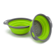 2 Piece Collapsible Colander & Mixing Bowl Set-Green