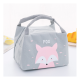 Childrens Kids Lunch Bag Insulated Cool Bag Portable Picnic Bag School Lunchbox Fox