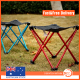 Portable Outdoor Folding Stool Camping Fishing Picnic Chair Small Seat
