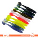 10 x Soft Plastic Minnow, 11 cm, Soft Lure, Paddle Tail, Shad, Grub, T Tail DW6001